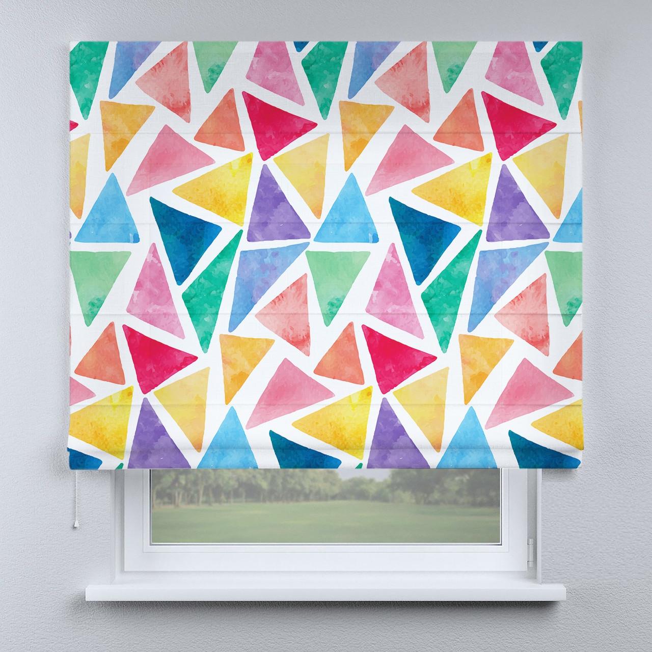 Римская фото штора Треугольники