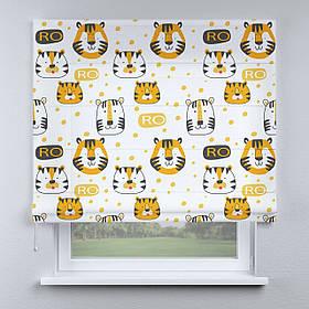 Римская фото штора Цирк тигрята