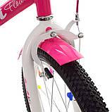 """Детский велосипед Profi Flower 18"""", фото 4"""