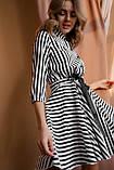 Платье женское в полоску 42-44, 46-48, фото 4