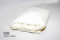 Плед  махровый(под велюр),мягкий и нежный,цвет молоко 220см × 200 см