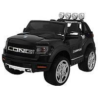 Детский электромобиль Джип M 3579EBLR-2 Ford. Звуковые и световые эффекты. MP3, SD, USB. Сидения кожа. Bambi
