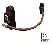 Блокіратор відкривання Penkid з тросом, коричневий.