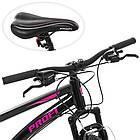 Спортивный велосипед колеса 26 дюймов PROFI G26VEGA A26.2 черно-розовый, фото 2
