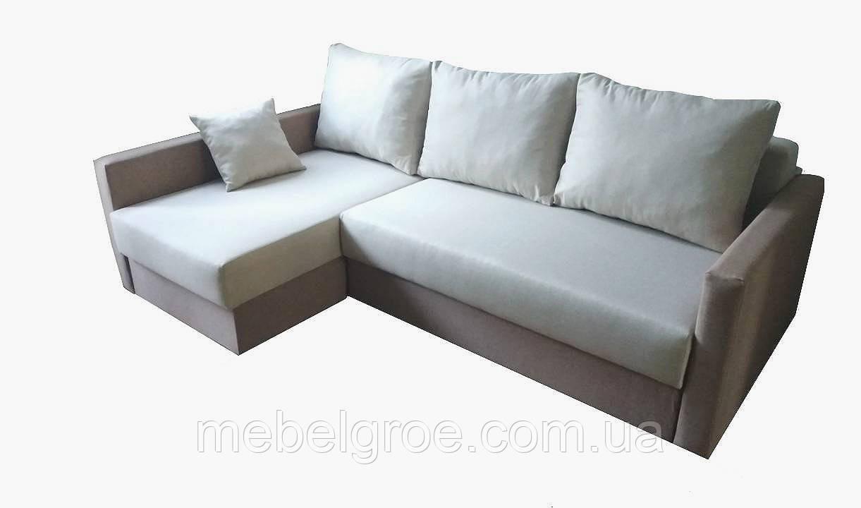 Угловой диван Вито (ламель+пруж.блок) тм Мамомебель