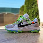 Жіночі кросівки Nike Zoom Terra Kiger 5 Off-White (біло-зелені) 20022, фото 2