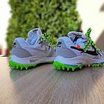 Женские кроссовки Nike Zoom Terra Kiger 5 Off-White (бело-салатовые) 20022, фото 3