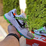 Женские кроссовки Nike Zoom Terra Kiger 5 Off-White (бело-салатовые) 20022, фото 4