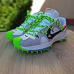 Женские кроссовки Nike Zoom Terra Kiger 5 Off-White (бело-салатовые) 20022, фото 6