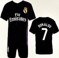 Детская форма для футбола ФК Реал Мадрид ( 6-12 лет)
