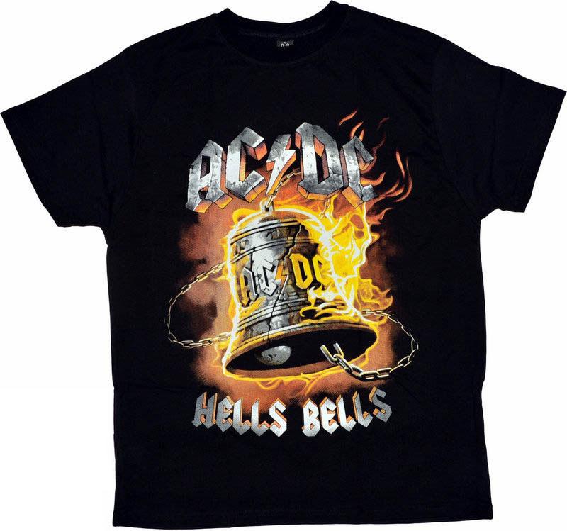 ФУТБОЛКА AC/DC HELLS BELLS-размер XXL