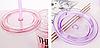 Стакан полікарбонатний охолоджуючий з трубочкою ICE CUP Benson BN-284 червоний | пляшка з льодом Бенсон, фото 9