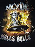ФУТБОЛКА AC/DC HELLS BELLS-размер XXL, фото 3