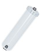 """Корпус линейного картриджа под засыпку 2,5""""х12"""" Aquafilter AICRO-E-212CL-THR резьбовой прозрачный"""