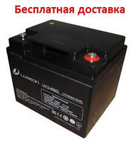 Аккумулятор Luxeon 40Ач LX12-40MG, фото 1