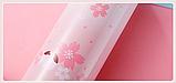 Термос из нержавеющей стали Benson BN-083 (350 мл) розовый | термочашка Бенсон | термокружка Бэнсон, фото 5