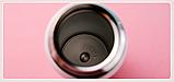 Термос из нержавеющей стали Benson BN-083 (350 мл) розовый | термочашка Бенсон | термокружка Бэнсон, фото 8