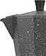 Гейзерная кофеварка мока из литого алюминия на 3 чашки Benson BN-158 | турка Бенсон, Бэнсон, фото 4