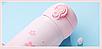 Термос из нержавеющей стали Benson BN-083 (350 мл) розово-голубой | термочашка Бенсон | термокружка, фото 4
