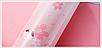 Термос из нержавеющей стали Benson BN-083 (350 мл) розово-голубой | термочашка Бенсон | термокружка, фото 5