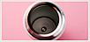 Термос из нержавеющей стали Benson BN-083 (350 мл) розово-голубой | термочашка Бенсон | термокружка, фото 8