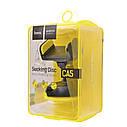 Автодержатель HOCO (CA5) черно/желтый  для телефона с присоской  Автомобильный держатель, фото 6