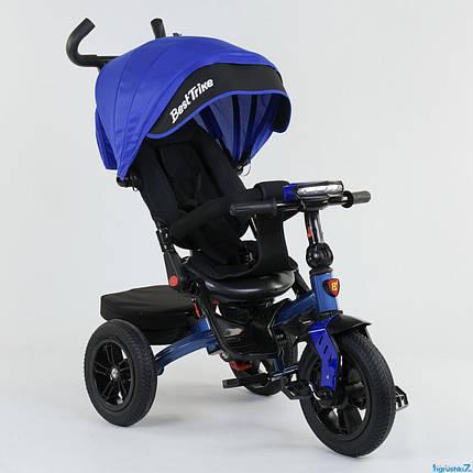 Детский трехколесный велосипед BEST TRIKE 9500 7820 (фара, музыкальная панель, поворотное сидение), фото 2