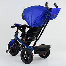 Детский трехколесный велосипед BEST TRIKE 9500 7820 (фара, музыкальная панель, поворотное сидение), фото 3