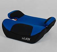 Автомобильный бустер для детей от 5 лет (15-36кг) Детское автокресло, автобустер, сидение, авто кресло. Синий