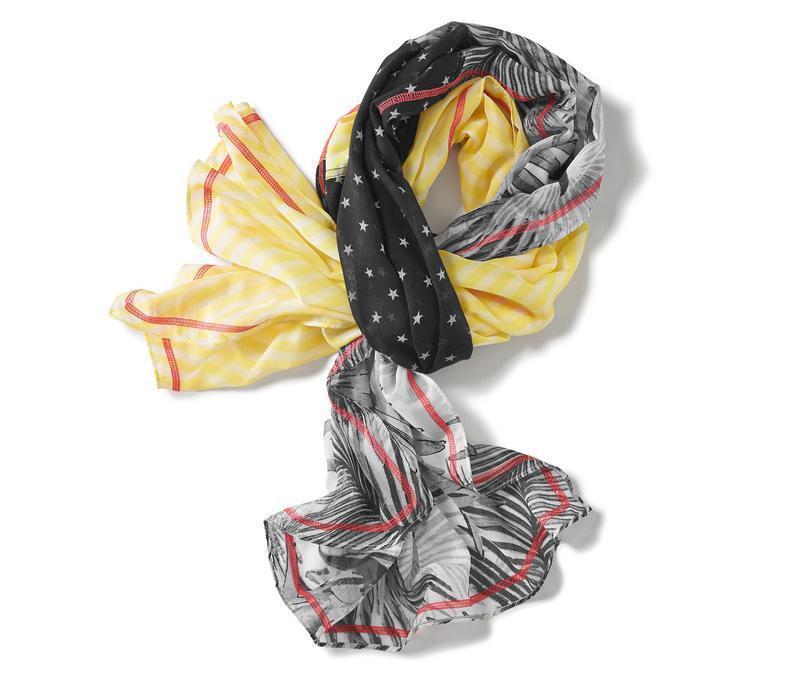 Легкий нежный большой шарф, шаль от тсм Tchibo (чибо), Германия