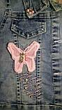 Модный детский джинсовый набор, фото 2