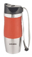 Термокружка из нержавеющей стали Benson BN-971 (500 мл) оранжевая | термочашка Бенсон | термос Бэнсон