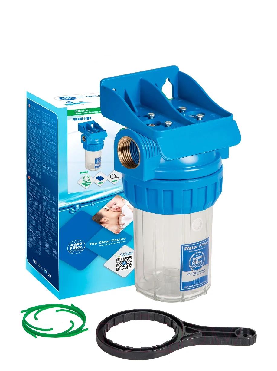 """Корпус фільтра для холодної води 5"""" AquaFilter FHPR5-1-WB 1"""" комплект"""