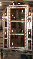 Двери из 7-камерного профиля WDS арочные