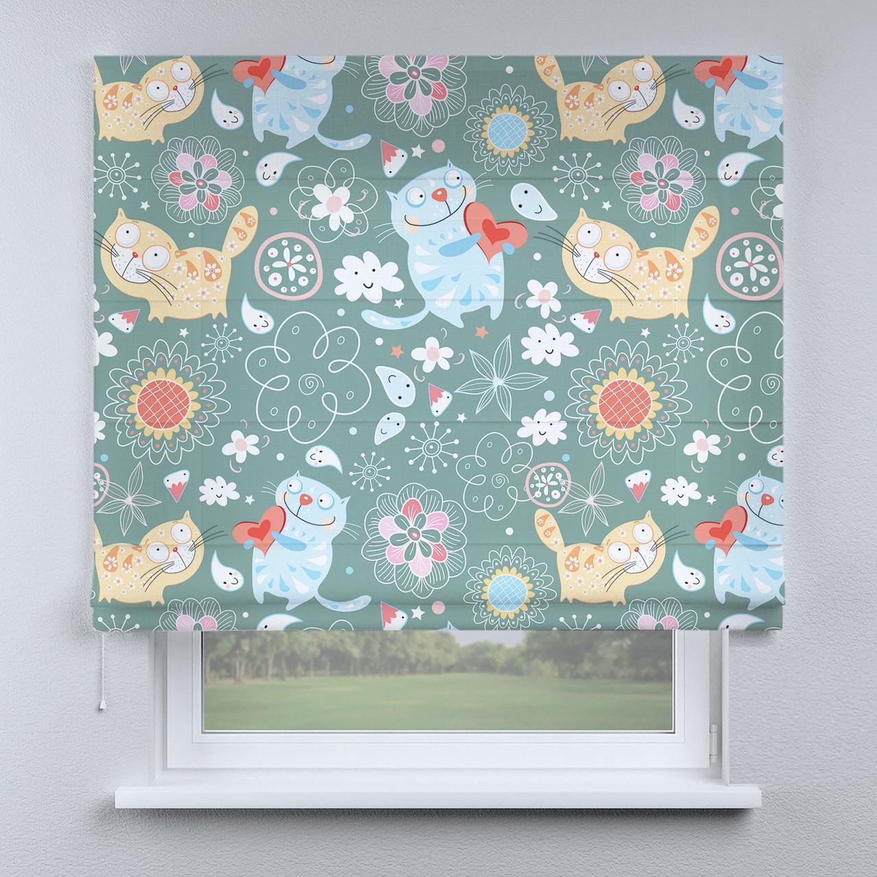 Римська фото штора Котики