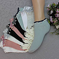 """Носки укороченные, женские. """"Золото"""",  37-42 р-р . Женские короткие носки, носки укороченные молодежные, фото 1"""