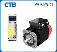 Комплектный сервопривод СТВ 32 Нм, 5.0 кВт, 1500 об/мин, 3х380В с тормозом (замена 4МТВ-С), фото 1