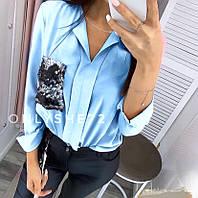 Блузка женская норма и ботал СК109, фото 1
