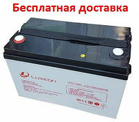 Аккумулятор 12В 100Ач LX12-100C Carbon GEL, фото 1