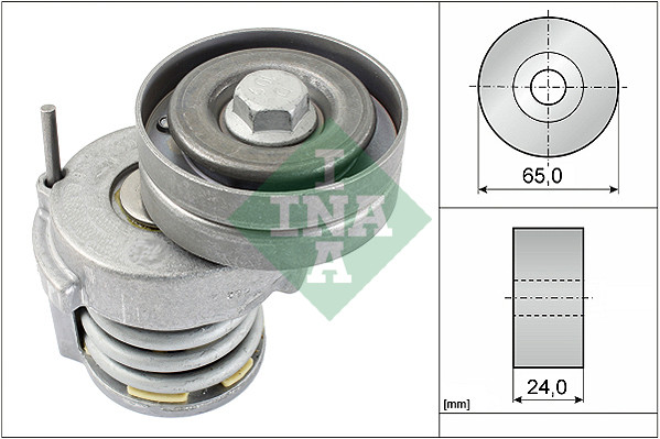 Рол.ген-ра механизм VW Polo Sedan/Polo/Golf 5/Touran 1.4/1.6FSi, Audi/VW/Skoda/Seat 1.2TSi (10-16) 534 0065 10