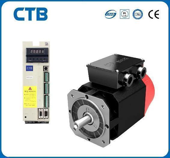 Комплектный сервопривод СТВ 40 Нм, 6.3 кВт, 1500 об/мин, 3х380В с тормозом
