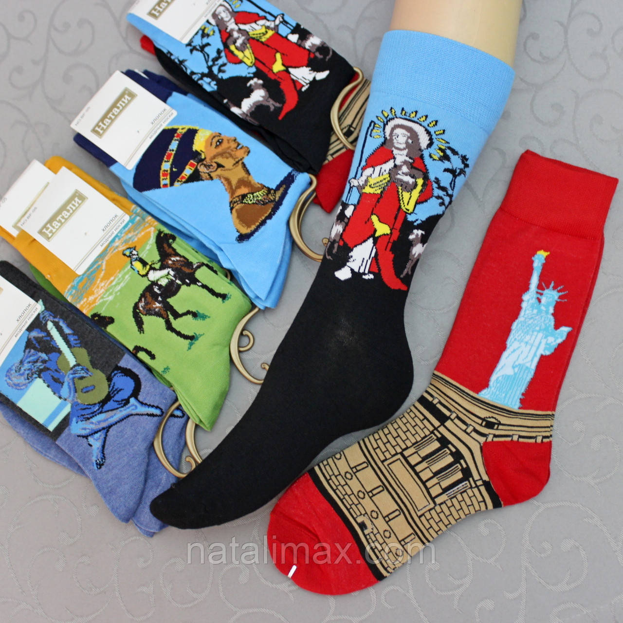 """Носки высокие (удлиненные) , 37-45 р-р .""""Натали"""".  Женские удлиненные  носки, гольфы"""