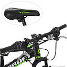 Спортивный велосипед колеса 20 дюймов PROFI G20FIFA A20.2 черно-зеленый, фото 2