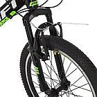 Спортивный велосипед колеса 20 дюймов PROFI G20FIFA A20.2 черно-зеленый, фото 3