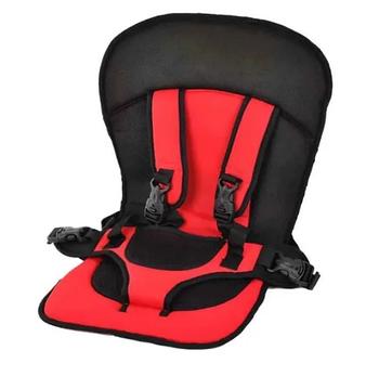 Детское автокресло Multi Function Car Cushion | Бескаркасное автокресло детское | Красное