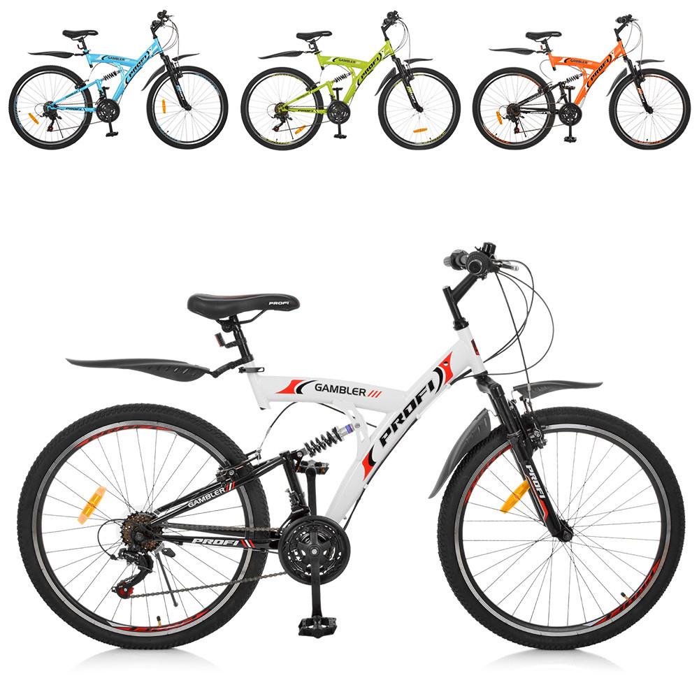 Спортивный велосипед колеса 26 дюймов PROFI G26GAMBLER S26MIX