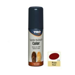 Крем-краска цвет Red (Красный) для замши и нубука Trg Nubuck Color, 75 мл №112