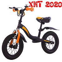 """ХИТ Детский беговел (велобег), BALANCE TILLY 12"""" Rocket T-212520 черно-оранжевый 11/39.6"""