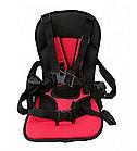Детское автокресло Multi Function Car Cushion | Бескаркасное автокресло детское | Синее, фото 6