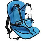 Детское автокресло Multi Function Car Cushion | Бескаркасное автокресло детское | Синее, фото 2